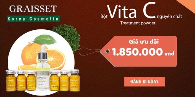 Bột vita c treatment powder nguyên chất