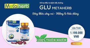 Glu metaherb hỗ trợ điều trị bệnh tiểu đường