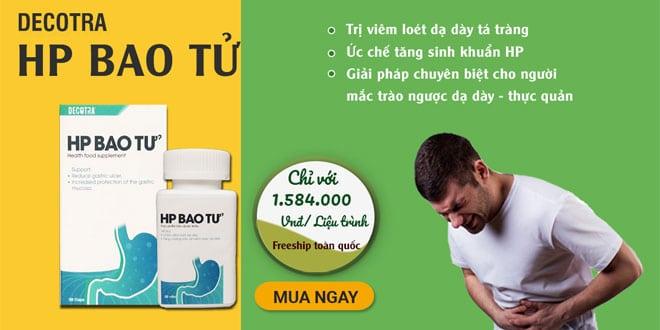 HP bao tử thuốc hỗ trợ điều trị các bệnh dạ dày