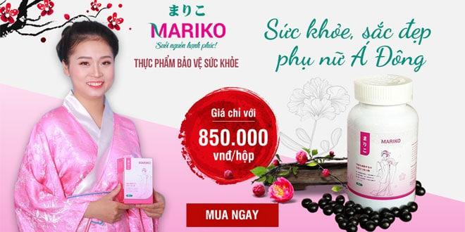 Mariko điều hòa kinh nguyệt, giảm đau bụng kinh
