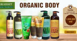 Organic body bộ sản phẩm chăm sóc da toàn thân