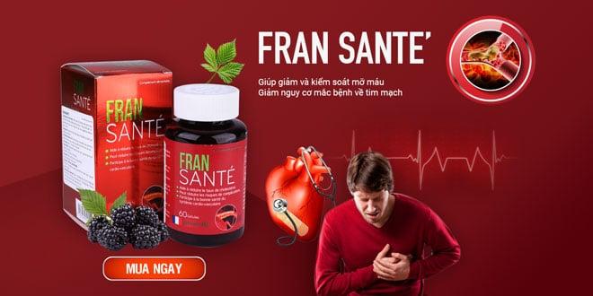 Thuốc Fransante - Hỗ trợ điều trị mỡ máu cao