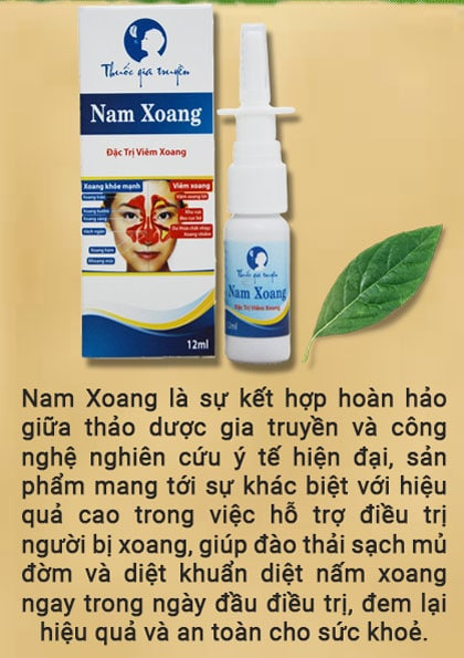 thuốc gia truyền đặc Nam xoang