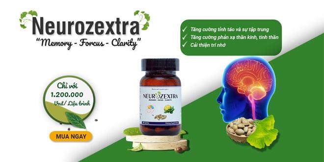Thuốc Neurozextra giải pháp cải thiện trí não đến từ mỹ